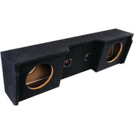 "ATREND A152-10CP BBox Series Subwoofer Box for GM(R) Vehicles 1999-2007 (10"" Dual Downfire, GM(R) Extended Cab) (R-ATRA15210CP)"