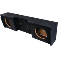"ATREND A152-12CP BBox Series Subwoofer Box for GM(R) Vehicles (12"" Dual Downfire) (R-ATRA15212CP)"
