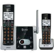 AT&T ATTCL82213 Cordless Answering System with Caller ID/Call Waiting (2-handset system) (R-ATTCL82213)