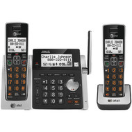 ATT ATTCL83213 Cordless Answering System with Dual Caller ID/Call Waiting (2-handset system) (R-ATTCL83213)