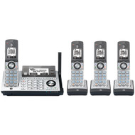 ATT ATTCLP99486 DECT 6.0 Connect-to-Cell(TM) 4-Handset Phone System with Dual Caller ID/Call Waiting (R-ATTCLP99486)