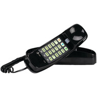 ATT ATTML210B Corded Trimline(R) Phone with Lighted Keypad (Black) (R-ATTML210B)