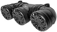 "Audiopipe Off Road Sound System With (3) 6.5"" Speakers 400W Max (R-ATVP3553BT)"
