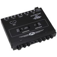 AUTOTEK 7007 Half-DIN 4-Band 2-Way Equalizer/Crossover (R-AUT7007)