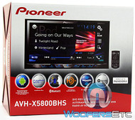 "AVH-X5800BHS - Pioneer 2-DIN In-Dash 7"" Touchscreen LCD Display DVD/CD Stereo Receiver with Spotify and Pandora Control, Camera Input and Built-in HD Radio (R-AVHX5800BHS)"