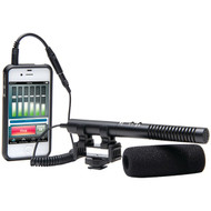 AZDEN SGM-990+i Zoom Shotgun Microphone for Camera & Mobile Devices (R-AZDSGM990I)