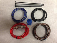 Motorcycle amplifier wiring kit for Victory , Harley , Indian Kawasaki (R-B00K34R0XI)