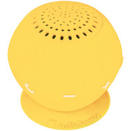 AUDIOSOURCE SP2YEL Sound pOp 2(TM) Water-Resistant Bluetooth(R) Speaker (Yellow) (R-AOSSP2YEL)