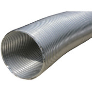 "BUILDERS BEST 110412 Semi-Rigid Aluminum Duct, 8ft (10"" dia) (R-BDB110412)"