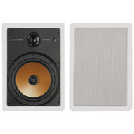 "BIC AMERICA HT8W 8"" 3-Way Acoustech Series In-Wall Speakers (R-BICHT8W)"