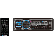 Blaupunkt CLM100BT COLUMBUS 100 BT Single-DIN In-Dash Digital Media Receiver with Bluetooth(R) (R-BLACLM100BT)