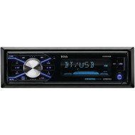 BOSS AUDIO 632UAB Single-DIN In-Dash Mechless AM/FM Receiver with Detachable Face (With Bluetooth(R)) (R-BOS632UAB)