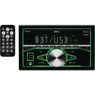 BOSS AUDIO 820BRGB Double-DIN In-Dash Mechless AM/FM Receiver with Bluetooth(R) (R-BOS820BRGB)