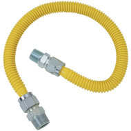 "BRASSCRAFT CSSC14-36 Gas Range & Gas Furnace Flex-Line (5/8"" OD (3/4"" MIP x 1/2"" MIP) x 36"") (R-BSSCSSC1436)"