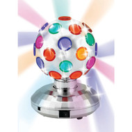 "CORNET BHL-125 5.1"" Rotating Disco Ball Light, Silver (R-BTWBHL125)"