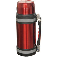 BRENTWOOD FTS-1000R Vacuum Stainless Steel Bottle with Handle (1.0 Liter) (R-BTWFTS1000R)