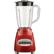 BRENTWOOD JB-220R 12-Speed Blender with Plastic Jar (Red) (R-BTWJB220R)