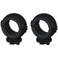 "BAZOOKA MT-CL2-B 2"" Marine Tubbie Swivel Clamps (Black) (R-BZKMTCL2B)"