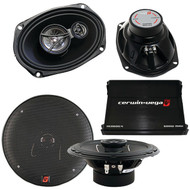 CERWIN-VEGA MOBILE CVM-SS2 Car Audio Party-Pack Sound System (R-CERCVMSS2)