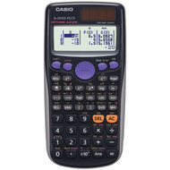CASIO FX300ES Plus Fraction & Scientific Calculator (Black) (R-CIOFX300ESP)