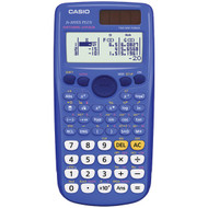 CASIO FX-300ESPLUS-BLU Fraction & Scientific Calculator (Blue) (R-CIOFX300ESPBL)