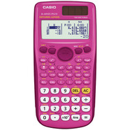 CASIO FX-300ESPLUS-PK Fraction & Scientific Calculator (Pink) (R-CIOFX300ESPPK)