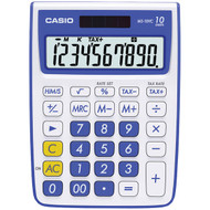 CASIO MS-10VC-BE 10-Digit Calculator (Blue) (R-CIOMS10VCBE)