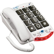 CLARITY 76560.001 Amplified Telephone with Talk Back Numbers (Black Buttons) (R-CLARJV35)