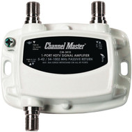 CHANNEL MASTER CM-3410 Ultra Mini Distribution Amp (1 Port) (R-CMSTCM3410)