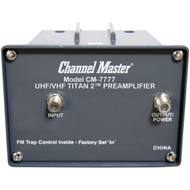 CHANNEL MASTER CM-7777 Titan 2 Preamp (High Gain) (R-CMSTCM7777)