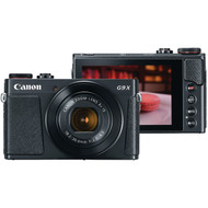 CANON 1717C001 20.1-Megapixel PowerShot(R) G9 X Mark II Digital Camera (Black) (R-CND1717C001)