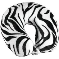 TRAVEL SMART BY CONAIR TS015ZBR Fleece-Covered Fiberfill Zebra Neck Rest (R-CNRTS015ZBR)