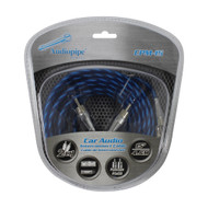 Audiopipe Platinum Plated Interconnect Cable 15ft (R-CPM15)
