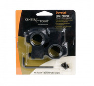 Centerpoint Dovetail Rings 2 Piece High Profile For Scopes With 25Mm Tube (R-CPM2PA25H)
