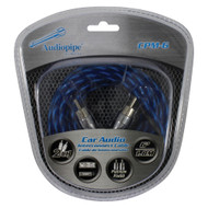 Audiopipe Platinum Plated Interconnect Cable 6ft (R-CPM6)