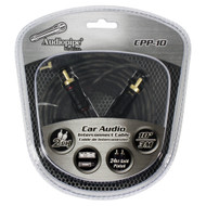 Audiopipe 24kt Gold Plated Interconnect Cable 10ft (R-CPP10)