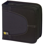 CASE LOGIC CDW-32BLACK Nylon CD Wallets (32 Disc) (R-CSLGCDW32)