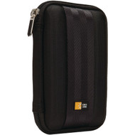 CASE LOGIC QHDC-10BLACK Portable Hard Drive Case (R-CSLGQHDC10BLK)