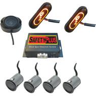 CRIMESTOPPER BSD-754 SafetyPlus(TM) Universal Front, Rear & Side Blind Spot Detection System (R-CSPBSD754)