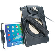 CTA Digital PAD-ACGM iPad mini(TM) 4/iPad mini(TM) 3/iPad mini(TM) 2/iPad mini(TM) Antitheft Case with Built-in Grip Stand (R-CTAPADACGM)