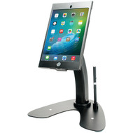 CTA Digital PAD-ASKMB iPad mini(TM) 4/iPad mini(TM) 3/iPad mini(TM) 2/iPad mini(TM) Dual-Security Kiosk Stand with Locking Case & Cable (R-CTAPADASKMB)