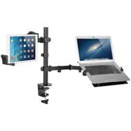 CTA Digital PAD-HLTAM Articulating Height-Adjustable Notebook & Tablet Arm Mount (R-CTAPADHLTAM)
