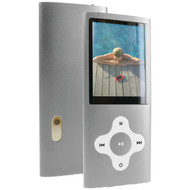 "CURTIS MPK8099BUK-SILVER 8GB 2"" Video MP3 Player (Silver) (R-CURMPK8099SLV)"