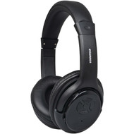 SYLVANIA SBT235-BLACK Bluetooth(R) Wireless Headphones with Microphone (Black) (R-CURSBT235BLACK)