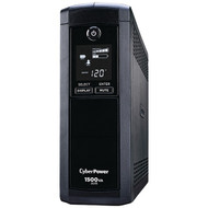 CyberPower CP1500AVRLCD 12-Outlet Intelligent LCD UPS System (R-CYBCP1500AVR)