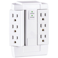 CyberPower CSB600WS 6-Outlet Essential Surge Protector (R-CYBCSB600WS)