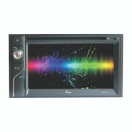 "TVIEW 6.1"" DOUBLE DIN TOUCHSCREEN  W/DVD BLUETOOTH AM/FM  4 X45 WATTS (R-D61TSB)"