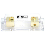DB LINK ANLFH3X Gold-Plated 4/8-Gauge ANL Single Fuse Holder (R-DBDANLFH3X)