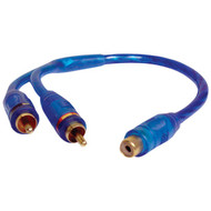 DB LINK CLY2MZ Competition Series Double-Shielded RCA Y-Adapter (1 Female to 2 Males) (R-DBDCLY2MZ)