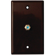 DATACOMM ELECTRONICS 32-2024-BR 2.4GHz Coaxial Wall Plate (Brown) (R-DCM322024BR)